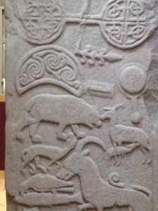 Arbroath Pictish carving